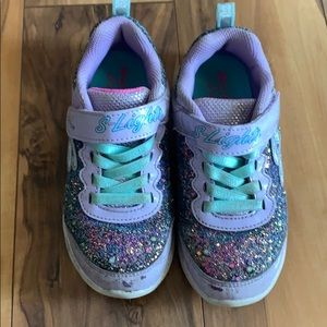 Sketches light up shoes size 12